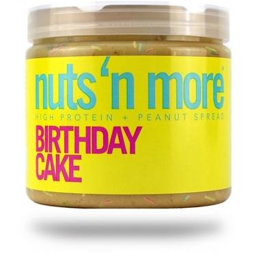 Nuts´n More Arašídové Máslo  Birthday Cake