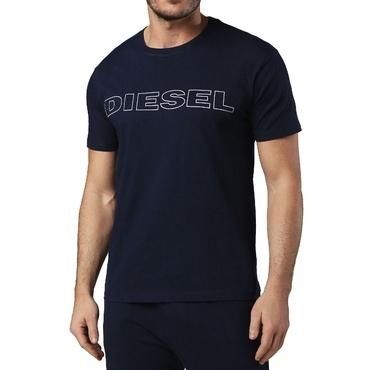 Diesel Tričko Pánske Jake Tmavo Modre