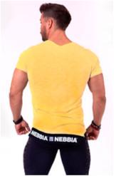 Nebbia Tričko 140 Be Rebel Pánské Žlté