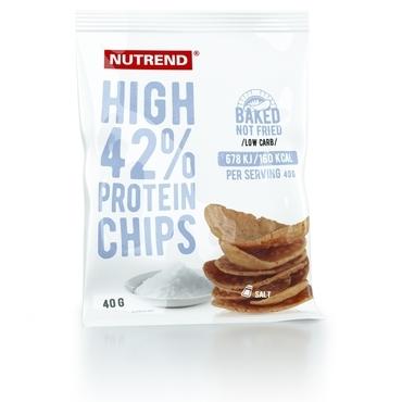Nutrend Proteínové Chipsy Slané