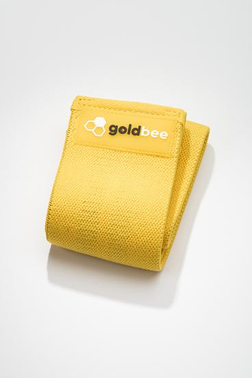 GoldBee Textilná Odporová Guma - Čierná
