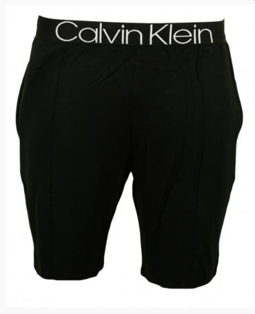 Calvin Klein Pásnké Kraťase Čierné Se Švy