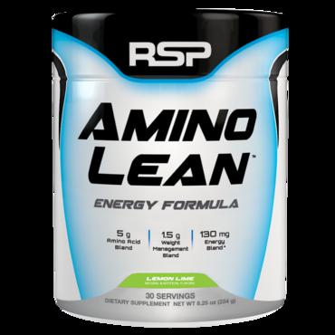 RSP AminoLean Energy Formula - Lemon Lime 30 dávek