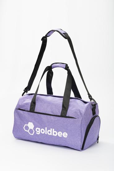 GoldBee Športová Taška - Fialová