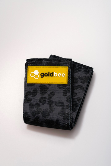 GoldBee Textilná Odporová Guma - Černá Tigrovaná