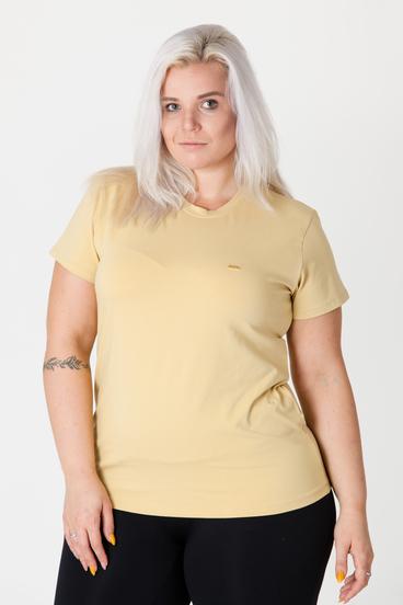 GoldBee Tričko Organic Dusty Yellow