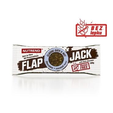 Nutrend Tyčinka Flap Jack Čokoláda A Kokos V Horké Čokoláde