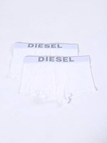 Diesel 2Pack Boxerky Biele