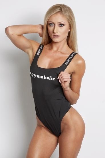 Gym Glamour Bodýčko Čierne
