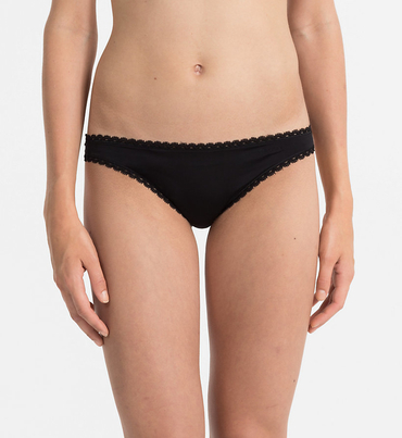 Calvin Klein Tangá Seductive Comfort Black
