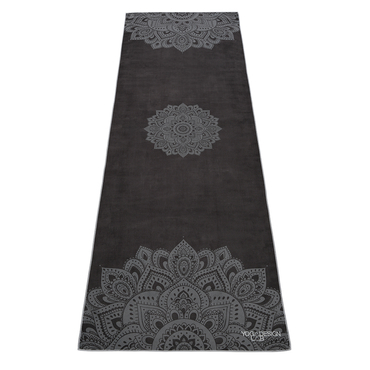Ručník Yoga Design - Black Mandala