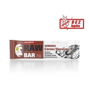 Nutrend Tyčinka Raw Seed Kakao A Lieskový Orech