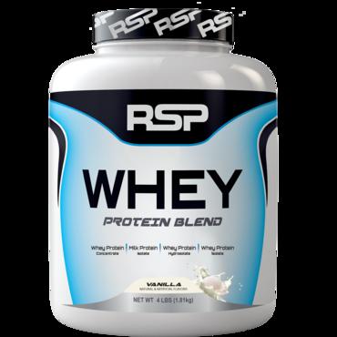RSP Whey Protein Blend - Vanilla