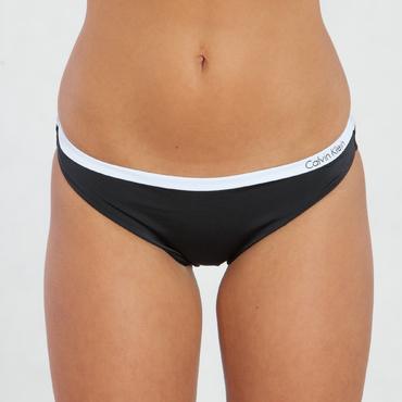 Calvin Klein Plavky Bandeau Čierne Spodný Diel