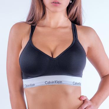 Calvin Klein Podprsenka Bralette Lift Black
