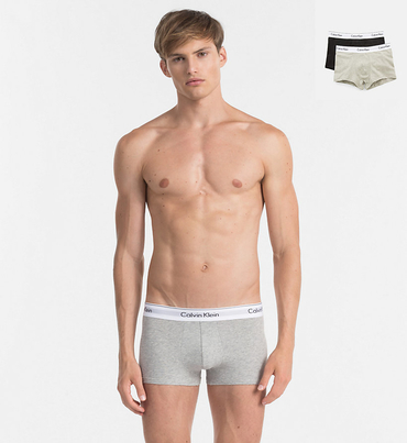 Calvin Klein 2Pack Boxerky Black And Grey
