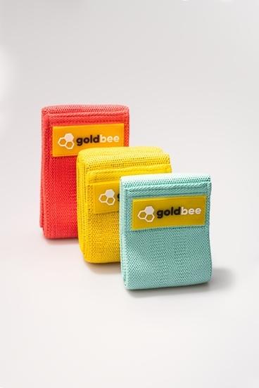 GoldBee Textilní Odporová Guma - set B | 3 ks