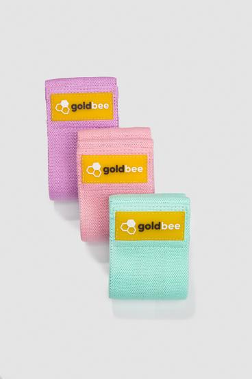 GoldBee Textilná Odporová Guma - set A | 3 ks