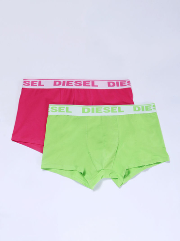 Diesel 2pack Boxerky Ružové A Zelené
