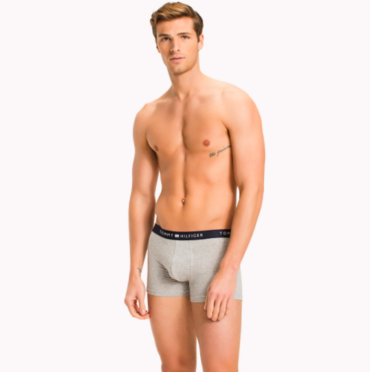 Tommy Hilfiger Classic Boxerky Grey