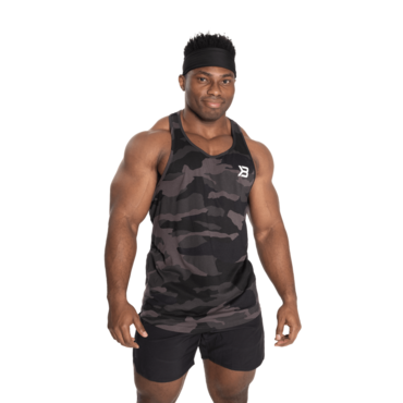 Better Bodies Tielko Essential T-Back Dark Camo