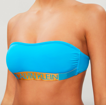 Calvin Klein Plavky Core Icon Maldive Blue Vrchní Diel