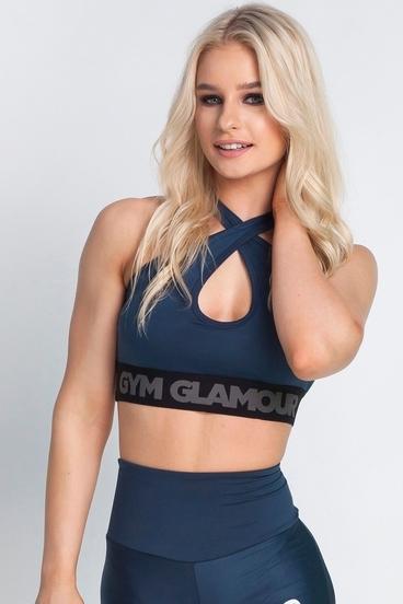 Podprsenka Gym Glamour Midnight Navy