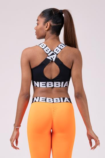 Nebbia Podprsenka 535 Power Your Hero - Čierná