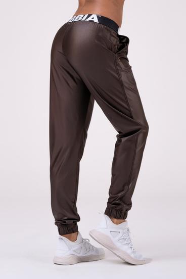 Nebbia Nohavice 529 Sports Drop Crotch - Hnedé