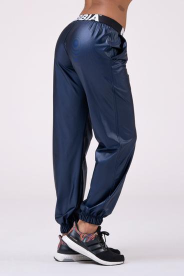 Nebbia Nohavice 529 Sports Drop Crotch - Modré