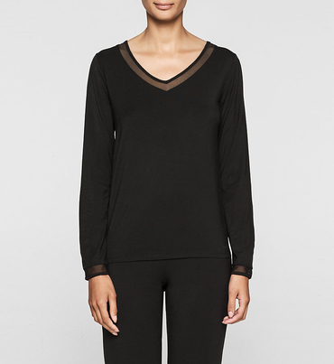 Calvin Klein Tričko Čierne