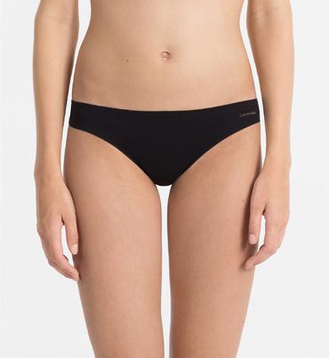 Calvin Klein Thong Perfectly Fit Čierne