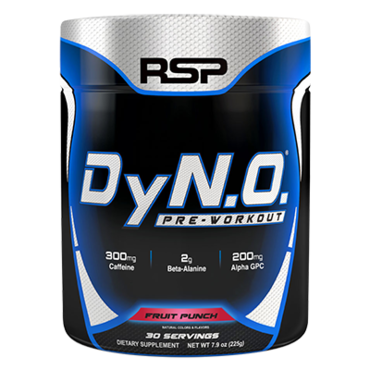 RSP Pre-Workout Dyn.O - Fruit Punch 30 dávek