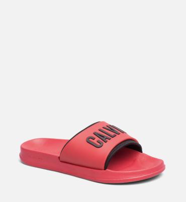 Calvin Klein Šľapky Red