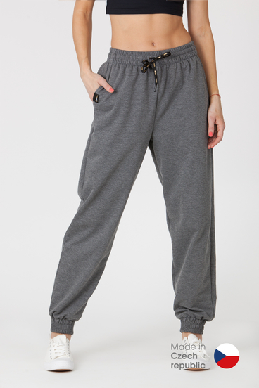 GoldBee Tepláky BeComfy Dark Grey