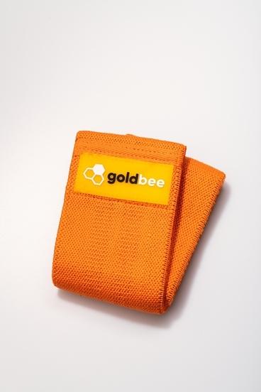GoldBee Textilná Odporová Guma - Oranžová
