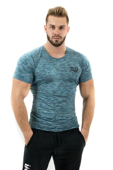 Nebbia AW Tričko 126 Modré