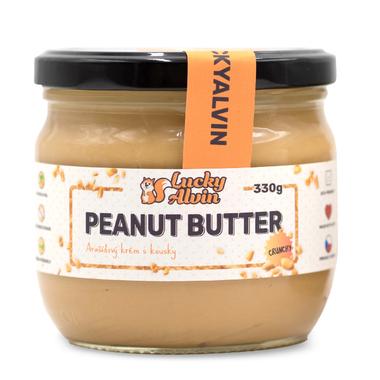 Lucky Alvin Peanut Butter Crunchy 330g