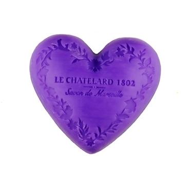 Le Chatelard 1802 Mýdlo V Tvare Srdca Levanduľa