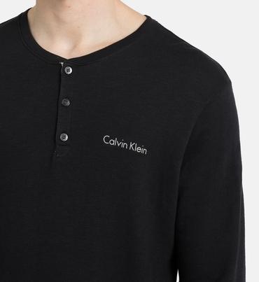 Calvin Klein Pánský Svetr Heritage Black