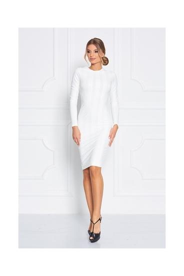 Sugarbird Šaty Patria Cabel Knit White