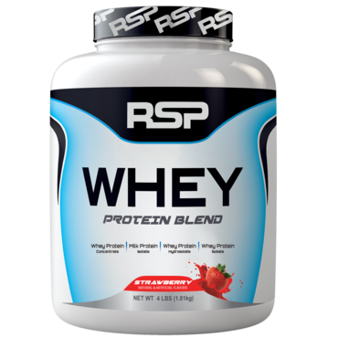 RSP Whey Protein Blend - Strawberry
