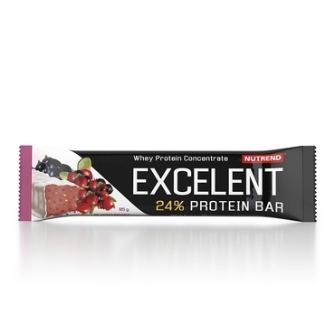 Nutrend Excelent Protein Bar Čierný Ríbezle S Brusnicami 40g