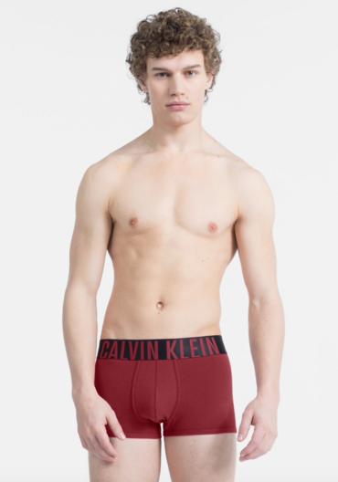 Calvin Klein Boxerky Intense Power Bordo