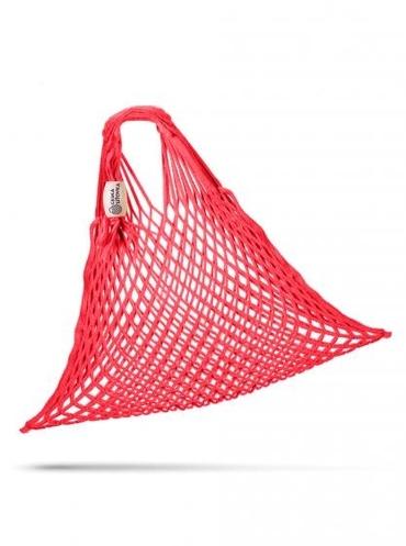 Sieťová Taška Červená