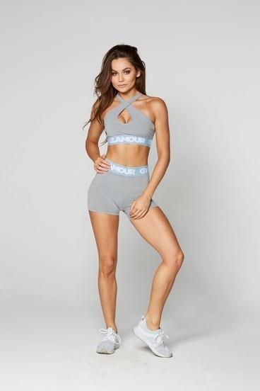 Gym Glamour Kraťásky Grey