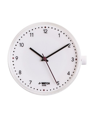 J-Watch Numbers White - 32mm