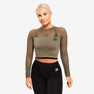 Better Bodies Crop-top Bronx Long Sleeve