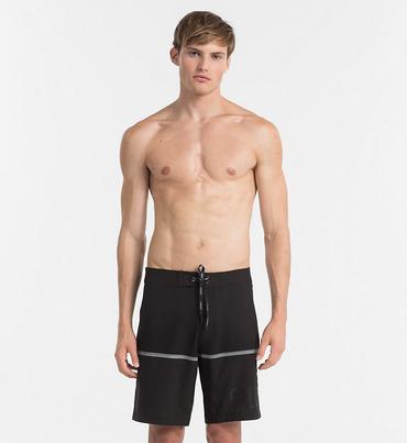 Calvin Klein Plavkové Šortky Boardshorts Black