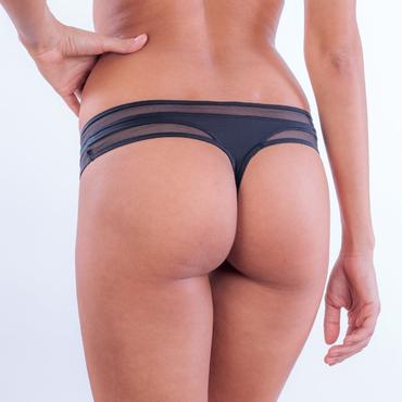 Calvin Klein Tangá Naked Touch Čierne